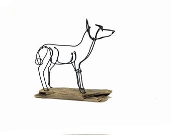Fox Wire Sculpture, Wire Sculpture, Wire Art, 571995892