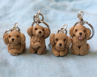 Golden Retriever Stitch Markers (set of 4)