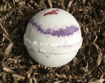 Black Raspberry Vanilla Handmade Bath Bomb