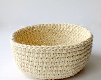 Baskets storage baskets crochet baskets nursery baskets for wedding nesting baskets baby shower Home Decor home decoration Hauswarming gift