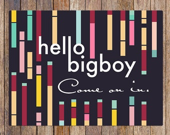 BigBoy - Custom Designed Floor Mat for Kitchen, Bathroom, Bedroom, Doormat