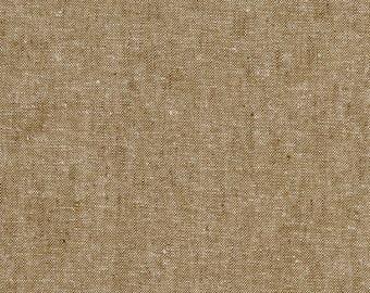 Robert Kaufman Yarn Dyed Essex - Taupe - Cotton Fabric