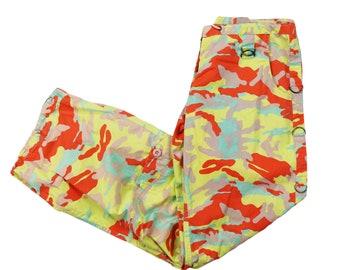 Women Camo Pants Camouflage Streetwear  Size S