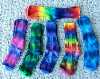 Tiedyed Women's Cotton Socks Variety Choice