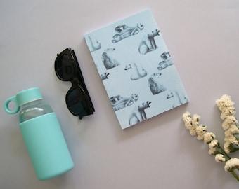 Cuaderno abrazo azul
