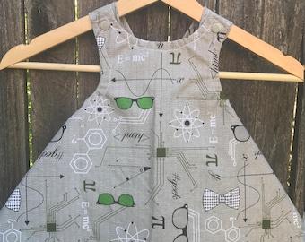 Cross back Swing Dress | Science | 12-18mo