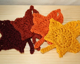 Fall Leaf Coaster Set