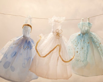 Digital Download Laundry Day photo Fine Art Photography Cinderella dress girls room pastel nursery wall art