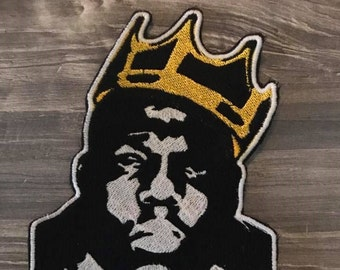 "The Notorious B.I.G. ""Biggie"" Iron Patch"