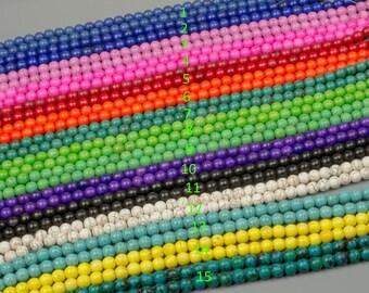 10mm Magnesite Turquoise 15 Colors