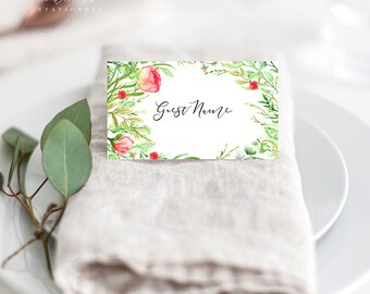 Country Charm - Place Cards (Style 13798)