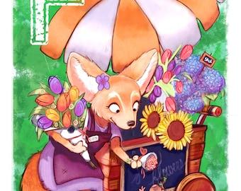 Fennec Fox Florist