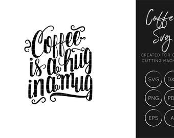 Coffe Quote SVG, Coffee SVG cut file