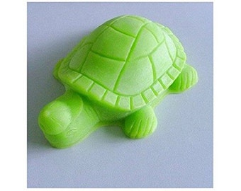 Cute Turtle 0044 Craft Art Silicone Soap mold Craft Molds DIY Handmade soap molds
