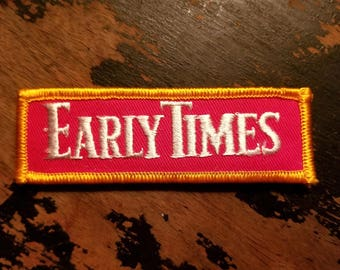 NOS Early Times Whiskey Patch