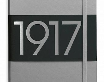 Leuchtturm1917 Special Metallic Anniversary Edition - Silver Limited A5 bujo