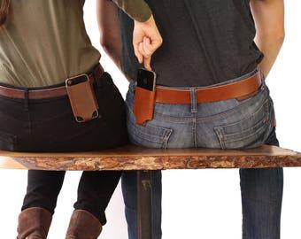iPhone 5SE belt holder - Black