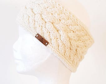 Knit Headband,Ear warmer,Gift for her,Knitted Headband,Women's Fall/Winter Fashion Accessory,Stocking Stuffer, Headband