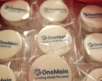 1-2 Dozen - Promotional & Event Oreo/Sandwich Cookies! Your Logo, Customer Thank You, Corporate Favors, Secretaries Week, Appreciation