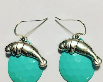 Manatee Spoon Earrings