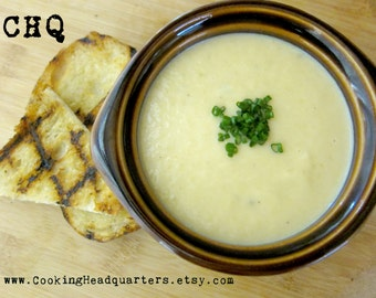 Creamy Potato Soup Recipe, Homemade Soups, Country Cooking, Cookbook Recipes, Healthy Living, Gluten Free, Vegetarian Appetizers