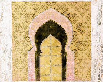 Pastel Moroccan Doors Art Print