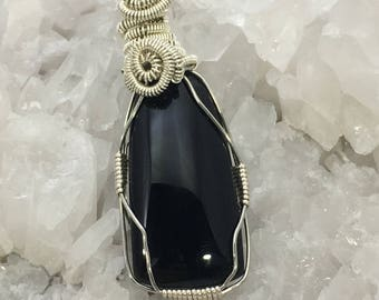Obsidian Wire Wrap