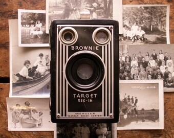 Vintage Kodak Brownie Target Six 16 Box Camera