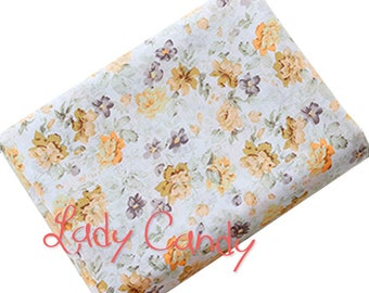Fabric style Liberty width 150 cm / springtime / sewing 150 x 50cm #7304