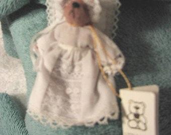 Handmade Miniature Bear by Deborah Danham