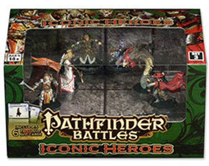 Pathfinder Battles: Iconic Heroes 3 Box - 71780 - WizKids