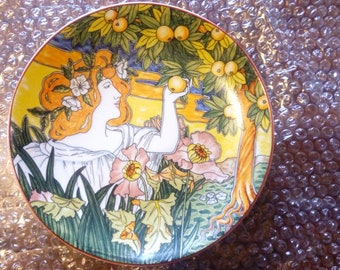Faenza - Italian Ceramic 3 plates