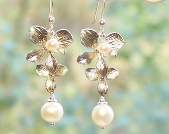 Earring Kit Orchid and Pearl