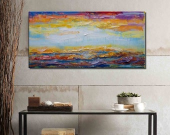 Abstract Painting, Canvas Art, Canvas Painting, Landscape Painting, Original Art, Large Wall Art, Large Art, Original Panting, Oil Painting