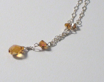 Copper Shimmer Necklace