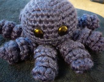 Large stuffed octopus