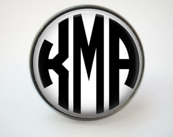 Custom Monogram Tie Tack or Lapel Pin -  Personalized for Dad or Wedding -  Men's Keepsake - Father's Day
