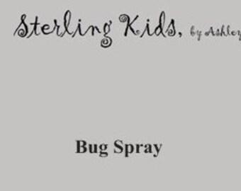 Childrens bug spray