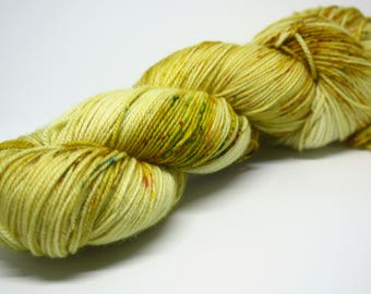 Harvest Moon - Hand-Dyed to Order Speckled Yarn