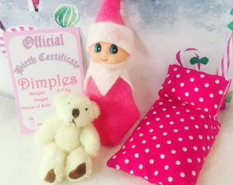 Baby Elf Doll Dimples The Shelf Sitter Doll