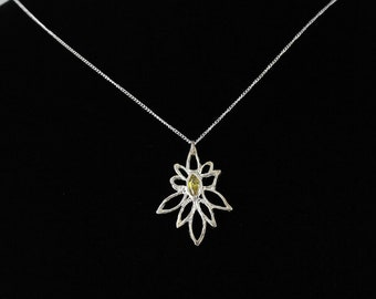 Silver Clay Pendant. Listing  110618847