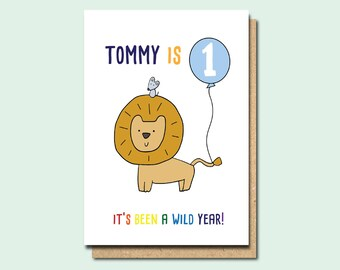 Personalised first birthday card personalised 1st birthday 1st birthday card personalised 1st birthday card girl 1st birthday card boy 1st bookmarktalkfo Image collections