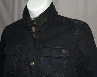 Vintage black Abercrombie and Fitch jacket