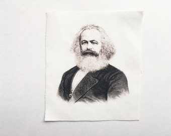 Karl Marx Sew On Patch