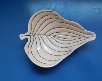 Carlton Ware Australian Design Leaf Plate/Trinket Tray
