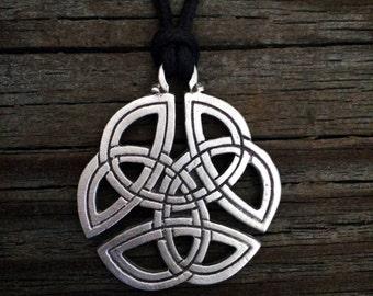 Trinity knot pendant etsy celtic trinity knot pendant celtic jewelry irish jewelry scottish jewelry handcrafted jewelry aloadofball Choice Image