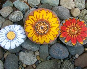 Flower rock card