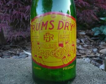 Ginger Ale Bottle , Rums Dry , Nehi