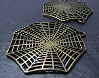 1 piece large spider web