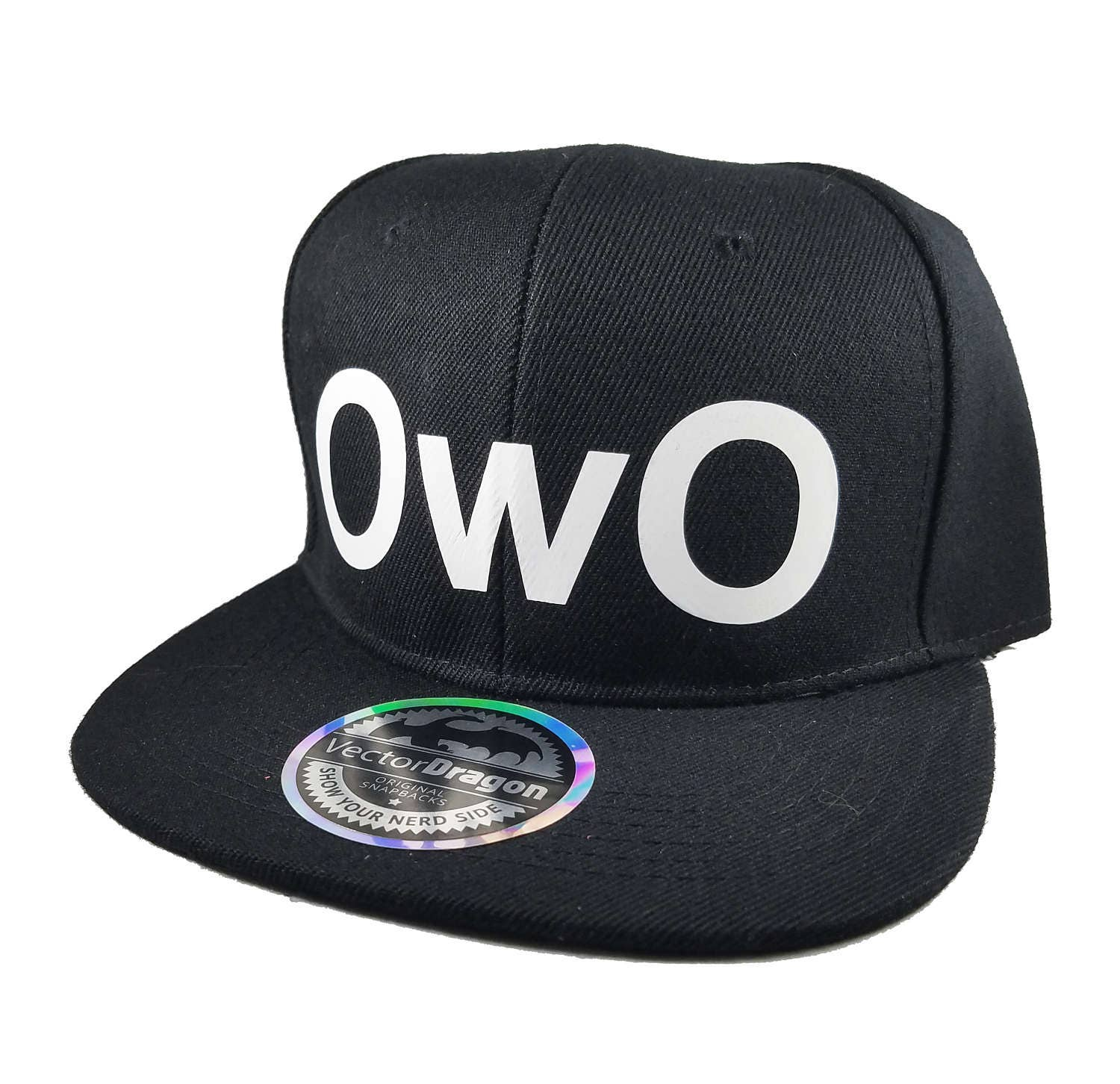 Owo What S This Face Snapback Trucker Cap Hat